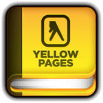 yellow pages daycare icon